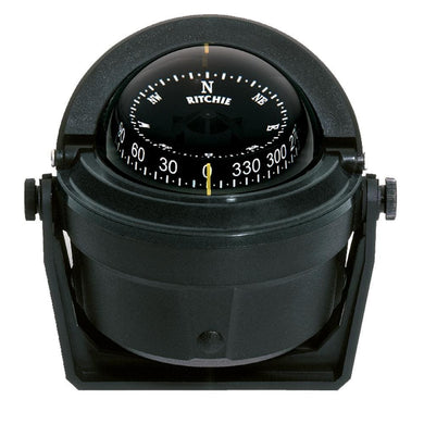 Ritchie B-81 Voyager Compass - Bracket Mount - Black [B-81] - Compasses - Magnetic Brand_Ritchie compasses-magnetic Marine Instruments |