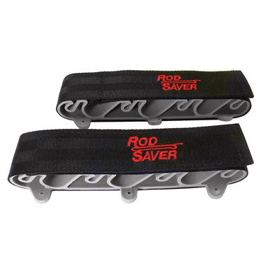 Rod Saver Side Mount 6 Rod Holder - Hunting & Fishing Rod & Reel Storage Rod Saver 082687112108