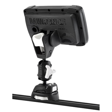 Scanstrut ROKK Mini Pro Mount Kit w-Kayak Track Base f-Lowrance HOOK2 [RLS-521-407] - Display Mounts Boat Outfitting | Display Mounts