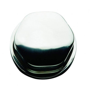 Schmitt Faux Center Nut - Chrome-Plastic - 1-2 3-4 Base - For Cast Steering Wheels [CAP0304] - Steering Wheels Brand_Schmitt & Ongaro Marine