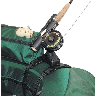 Scotty 267 Fly Rod Holder w-266 Float Tube Mount [267] - Fishing Accessories Brand_Scotty fishing fishing-accessories outdoor Outdoor |