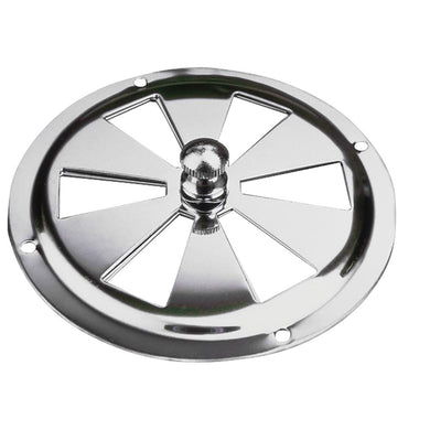 Sea-Dog Stainless Steel Butterfly Vent - Center Knob - 4 - Marine Hardware Vents Sea-dog