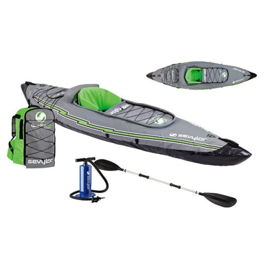 Sevylor K5 QuikPak Inflatable Kayak [2000014136] - Inflatable Kayaks/SUPs Brand_Sevylor inflatable-kayaks-sups paddlesports Paddlesports |