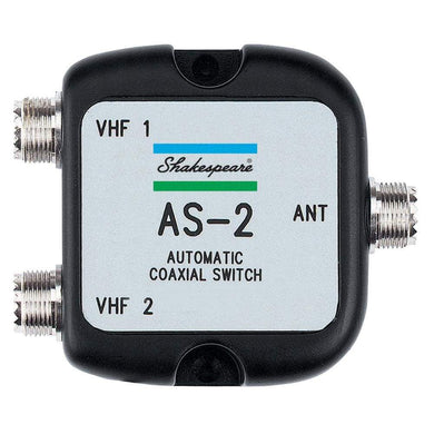 Shakespeare AS-2 Automatic Coaxial Switch [AS-2] - Accessories Brand_Shakespeare camping communication Communication | Accessories