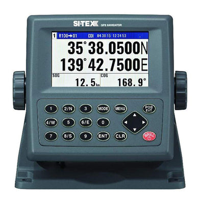 SI-TEX GPS-915 Receiver - 72 Channel w-Large Color Display [GPS915] - GPS - Track Plotter Brand_SI-TEX gps-track-plotter Marine Navigation &