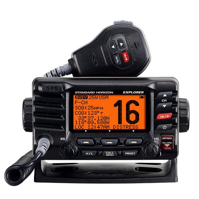 Standard Horizon Explorer GX1700B GPS Fixed Mount VHF - Black [GX1700B] - VHF - Fixed Mount Brand_Standard Horizon communication