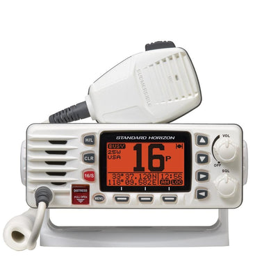 Standard Horizon GX1300W Eclipse Ultra Compact Fixed Mount VHF - White [GX1300W] - VHF - Fixed Mount Brand_Standard Horizon communication