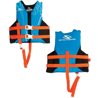Stearns Child Hydroprene Vest Life Jacket - 30-50lbs - Blue [2000019830] - Life Vests Brand_Stearns life-vests Marine Safety | Personal