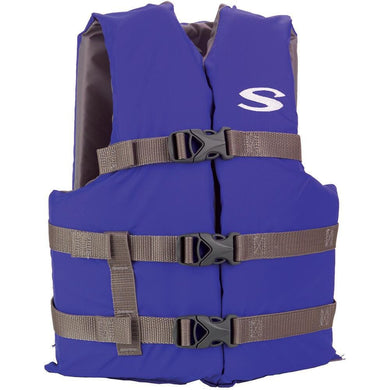 Stearns Classic Youth Life Jacket f-50-90lbs - Blue-Grey [3000004473] - Personal Flotation Devices Brand_Stearns Marine Safety | Personal