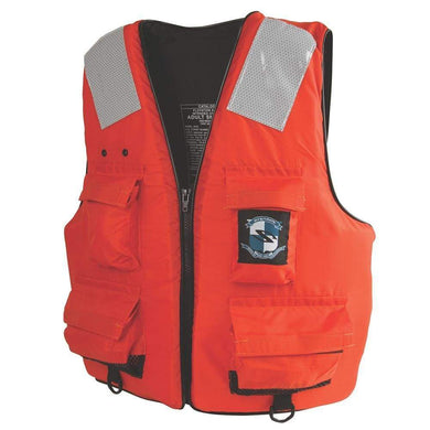 Stearns First Mate Life Vest - Orange - Medium [2000011404] - Personal Flotation Devices Brand_Stearns Marine Safety | Personal Flotation