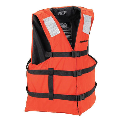 Stearns General Purpose Vest - Orange - Adult [2000011389] - Personal Flotation Devices Brand_Stearns Marine Safety | Personal Flotation