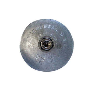 Tecnoseal R1AL Rudder Anode - Aluminum - 1-7-8 Diameter [R1AL] - Anodes anodes Boat Outfitting | Anodes Brand_Tecnoseal Tecnoseal