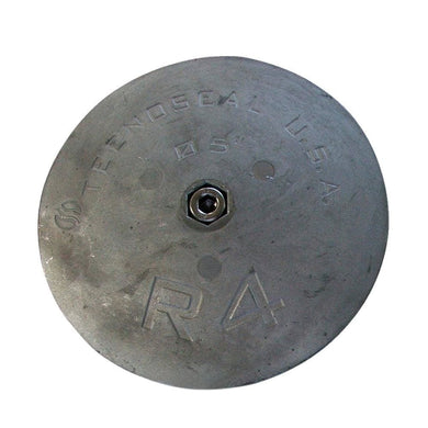 Tecnoseal R4 Rudder Anode - Zinc - 5 Diameter x 5-8 Thickness [R4] - Anodes anodes Boat Outfitting | Anodes Brand_Tecnoseal Tecnoseal