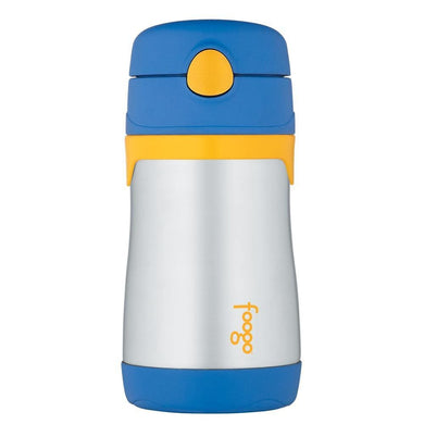 Thermos Foogo Leak-Proof Straw Bottle - Blue [BS535BL003] - Hydration Brand_Thermos camping Camping | Hydration hydration outdoor Thermos