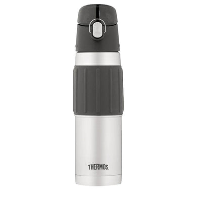 Thermos Vacuum Insulated Hydration Bottle - 18 oz. - Stainless Steel-Gray [2465TRI6] - Hydration Brand_Thermos camping Camping | Hydration
