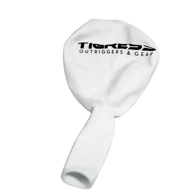 Tigress White Helium Ballons [88615-1] - Outriggers Boat Outfitting | Outriggers Brand_Tigress outriggers Tigress 661033861510