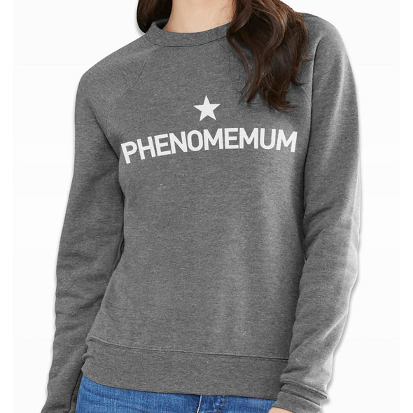 Ultra Cosy Phenomemum Grey Sweatshirt