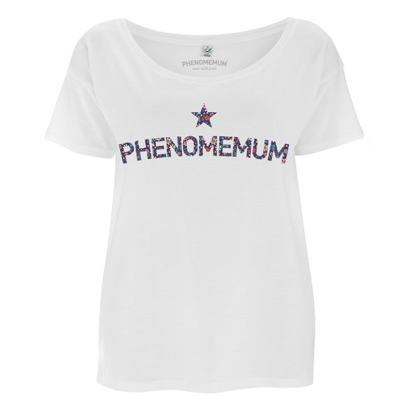 Phenomemum - Oversized Floral Tee