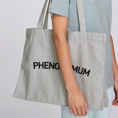 Recycled Grey Large Shopping Bag