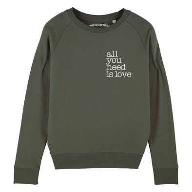 All you need is Love - Womens Crew Sweatshirt