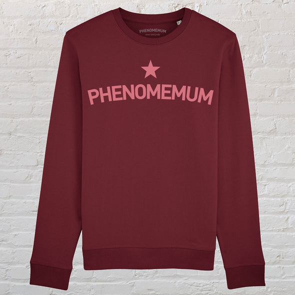 Phenomemum - Burgundy Classic Sweatshirt