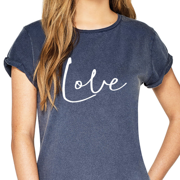Love - Roll Sleeved Tee