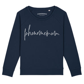 Phenomemum Script Relaxed Fit Sweatshirt