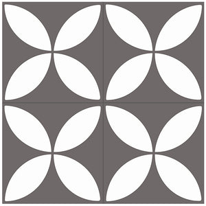 Floral Cement, Floral Grey