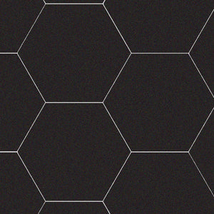 Cement Hex, Black