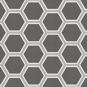 Cement Hex, Stone Grey