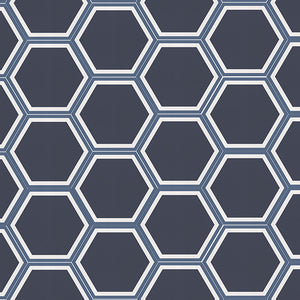 Cement Hex, Blue
