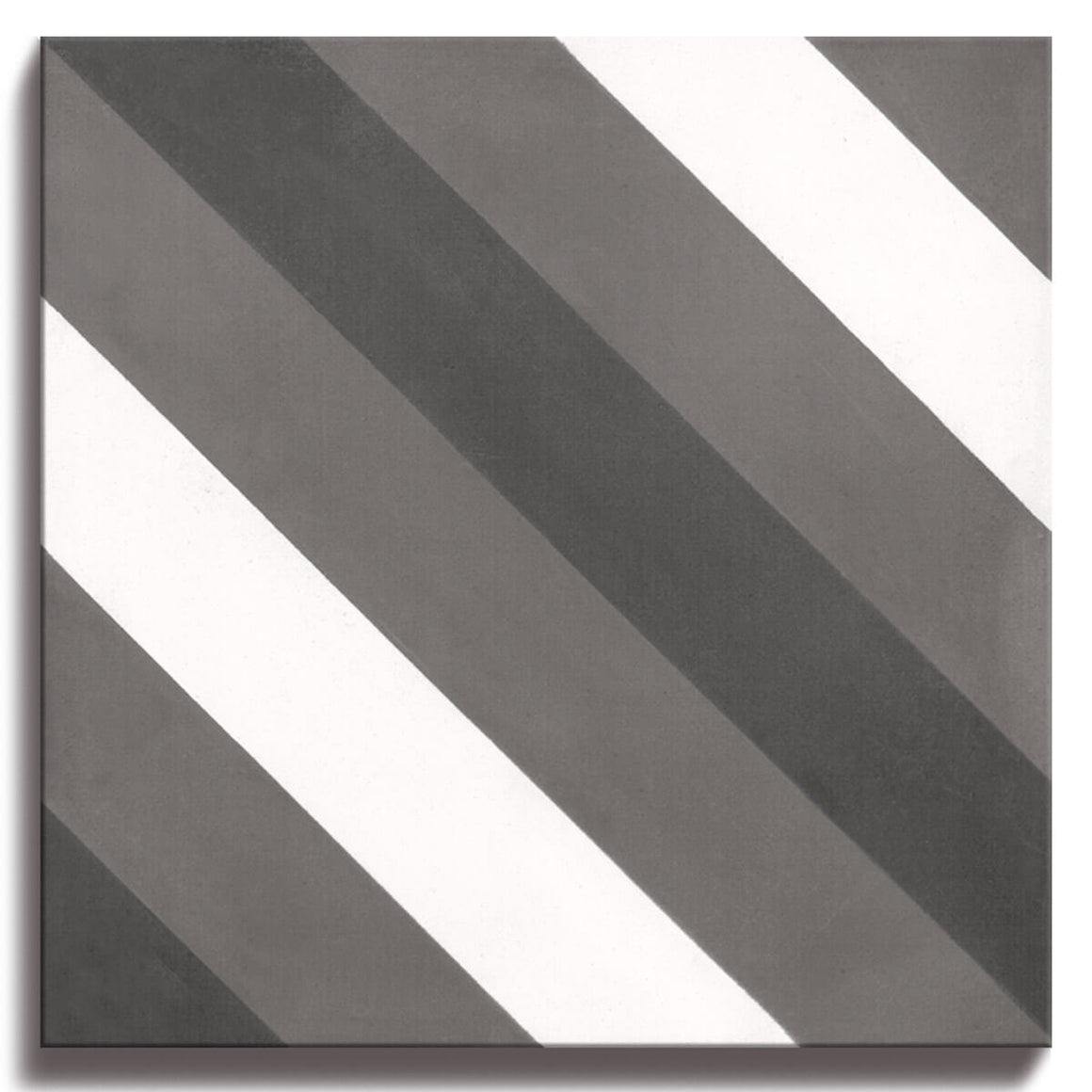 Geo Cement, Stripe Grey