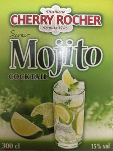 Mojito en Bag in Box de 3 litres Cherry Rocher - MOJITOSTORE