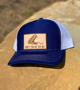 Don't Tread On Me Cap - Blue/White