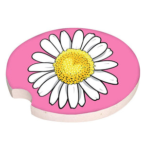Simply Southern Car Coaster Daisy