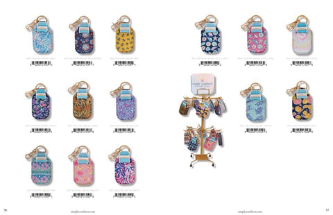 Simply Southern Hand Sanitizer Keychain