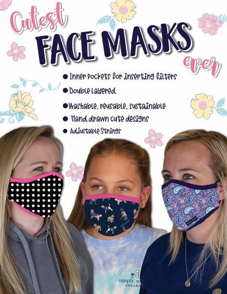 Simply Southern Youth Face Mask