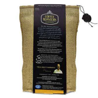 Coffee Roasters of Jamaica – 100% Jamaica Blue Mountain Coffee (16 oz - Whole Beans)