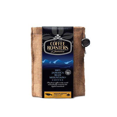 Coffee Roasters of Jamaica – 100% Jamaica Blue Mountain Coffee (2 oz bag - ground)