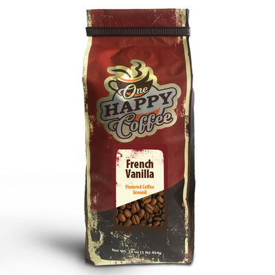 One Happy Flavored Coffee – French Vanilla