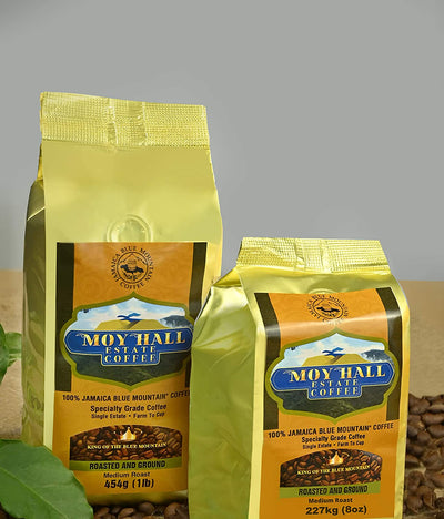 Jamaica Blue Mountain Single Estate Special Reserve Coffee Beans, 16oz