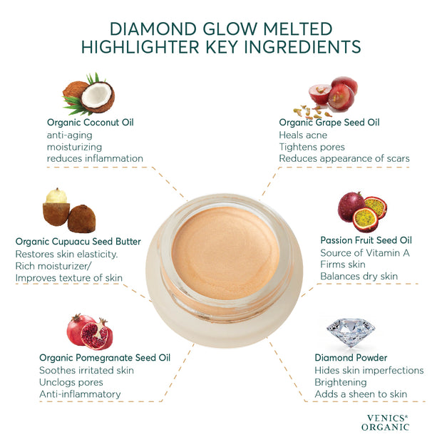 First Christmas - Diamond Glow Melted Highlighter™ - VENICS