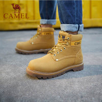 CAMEL Hommes High Top Chaussures De Plein Air Imperméables Durable Anti-Slip