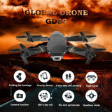 GD89 Dron WIFI FPV 1080P Cam HD Alt Hold Mode sans tête Drone pliable RC 4copter RTF