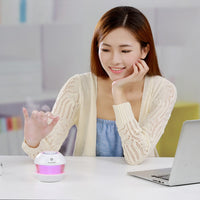 Mini Humidificateur Aroma Essentiel Diffuseur LED Lumières Mist Maker Liquidation 150ml