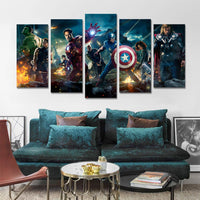 Marvel Prints Avengers Alliance 2 Affiches Et Gravures Pour Le Salon Décoration Mur Art