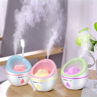 Nouveau Diffuseur Creative Cute Sofa Humidificateur USB Diffuseur Coloré Night Light
