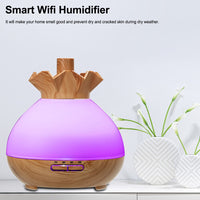 Amazon alexa Google Home Smart Wifi sans fil diffuseur d'huiles essentielles humidificateur
