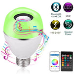 Ampoule E27 LED RGB Smart Lights Application Intelligente Bluetooth Haut-Parleur