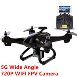 Global Drone X183S RC 4 copter 5G 1080P Grand Angle WIFI FPV GPS Suivre Circyling Altitude Survol